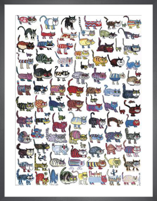 100 Cats and a Mouse by Vittorio Fiorucci