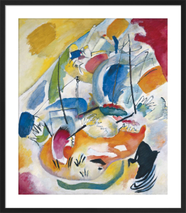 Improvisation 31 (Sea Battle), 1913 by Wassily Kandinsky