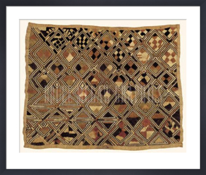Kuba Cloth II by Artist Not Specified