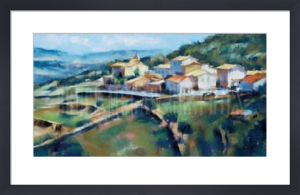Hillside Village by Desmond O'Hagan