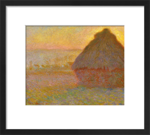 Grainstack (Sunset), 1891 by Claude Monet