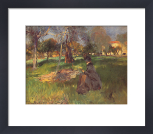 In an Orchard by John Singer Sargent