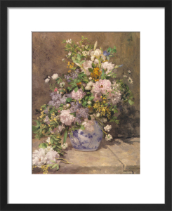 Spring Bouquet, 1866 by Pierre Auguste Renoir