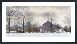 Bucks Winter by Hendershot