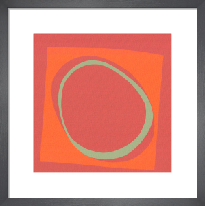 Optic (serigraph) by Denise Duplock