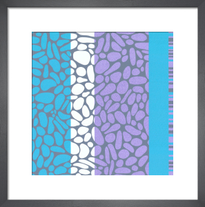 Pebble Shore (serigraph) by Denise Duplock