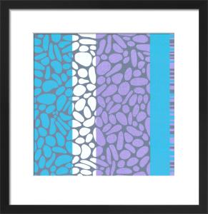 Pebble Shore (serigraph) by Denise Duplock