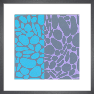 Pebble Stones (serigraph) by Denise Duplock