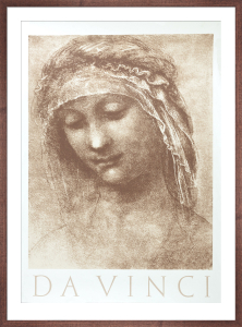 St. Anne , c.1501 by Leonardo da Vinci