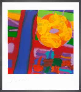 Battersea I, 2001 (Signed) by Albert Irvin