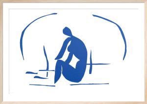 La Baigneuse dans les Roseaux, 1952 by Henri Matisse