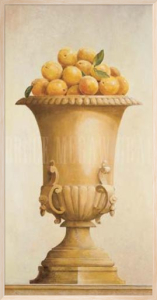 Oranges in Vase by Hampton Hall
