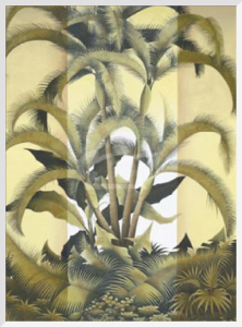 Palm Grove by Sudarsa