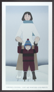 The Skaters, 1994 by Will Barnet