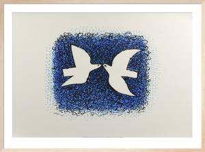 Couple d'oiseaux by Georges Braque