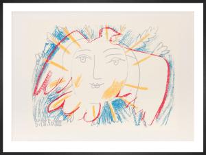 Le Visage de la Paix, 1950 by Pablo Picasso