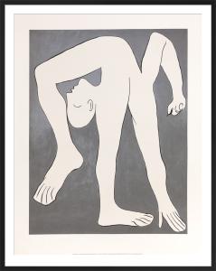 L'Acrobat, 1930 by Pablo Picasso