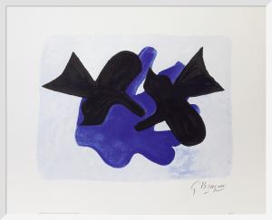 Astre et l'Oiseau II by Georges Braque