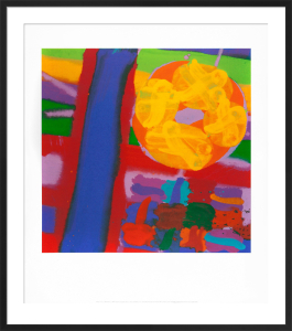 Battersea I, 2001 (serigraph) by Albert Irvin