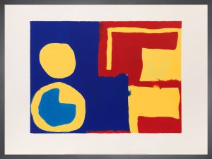 Hard Reds, Yellows and Blues, August 1966 by Patrick Heron