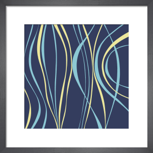 Marine Blue (giclee) by Denise Duplock