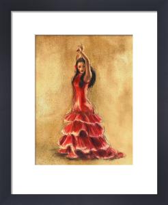 Flamenco Dancer I by Caroline Gold