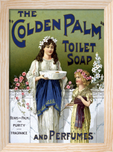Golden Palm Soap by The National Archives