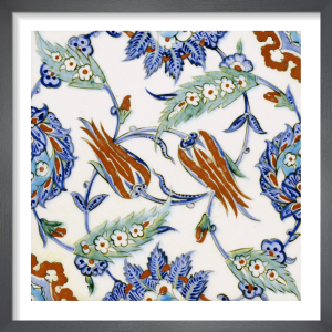 An Iznik Pottery Tile, c.1580 (II) by Anonymous