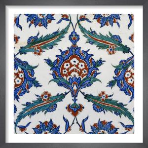 An Iznik Pottery Tile, c.1580 (I) by Anonymous