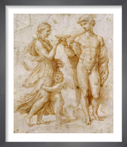 Mercury Offering the Cup of Immortality to Psyche by Raphael
