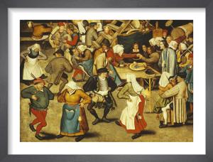 The Indoor Wedding Dance by Pieter Brueghel The Younger