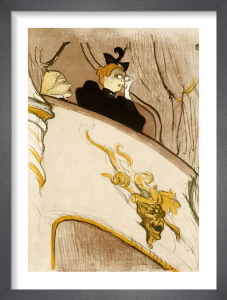 The Box at the Mascaron Dore (Le Loge Au Mascaron Dore), 1894 by Henri de Toulouse-Lautrec