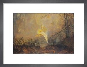 Midsummer Night, 1876 by John Atkinson Grimshaw