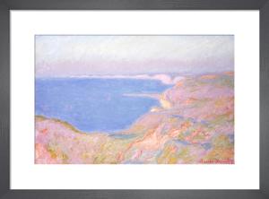 On the Cliffs near Dieppe, Sunset, 1897 by Claude Monet