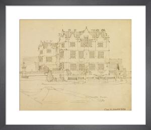 Montacute House, Somerset, 1895 by Charles Rennie Mackintosh