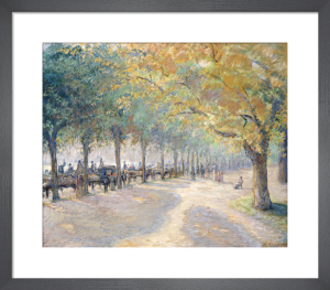 Hyde Park, London, 1890 by Camille Pissarro