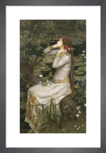 Ophelia by John William Waterhouse