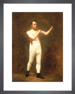 Portrait of a Boxer said to be Tom Sayers, c.1860 by English School