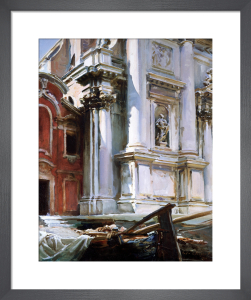 Church of St Stae, Venice by John Singer Sargent