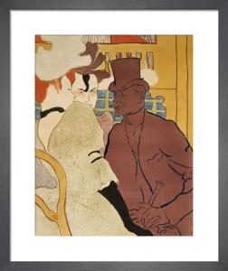 L'Anglais au Moulin Rouge, 1892 by Henri de Toulouse-Lautrec