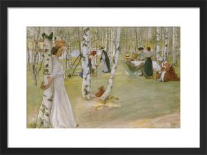 Breakfast in the Open, 1910 by Carl Larsson