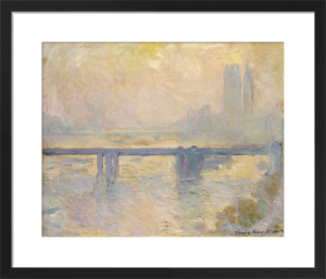 Charing Cross Bridge, 1903 by Claude Monet