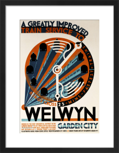 Welwyn Garden City - A Greatly Improved Service by Cecil Walter Bacon
