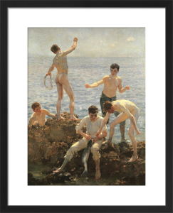 Midsummer Morning, 1908 by Henry Scott Tuke