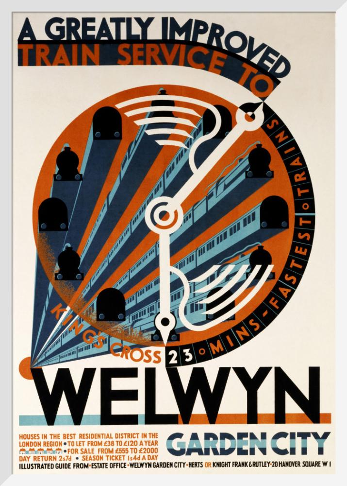 Welwyn Garden City - A Greatly Improved Service