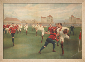 England v. Wales at Swansea, January 5th 1895 by Anonymous