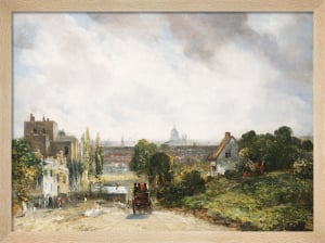 View of the City of London from Sir Richard Steele's Cottage, Hampstead c.1832 by John Constable
