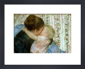 A Goodnight Hug by Mary Cassatt