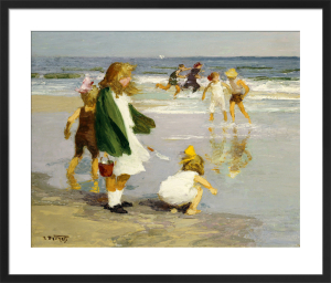 Play in the Surf by Edward Henry Potthast