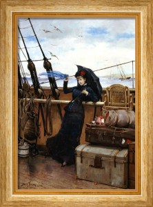 The Departure by Henry Bacon